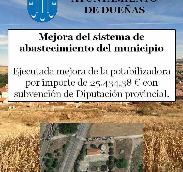 09 abril de 2021: Mejora del abastecimiento de Agua.